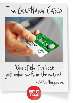 Golf Hawaii Card