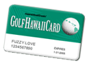 Maui Golf Discount Card