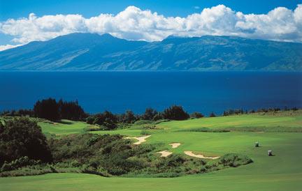 Maui Kapalua Bay Golf Course Layout