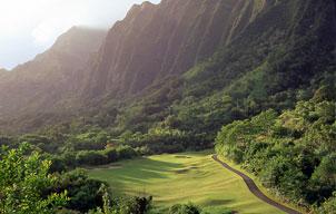 Hawaii golf course koolau