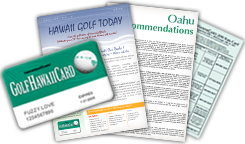 GolfHawaiiCard Subscription Package